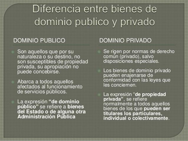 Diferencia entre bienes de dominio publico y privado for Diferencia entre yeso y escayola