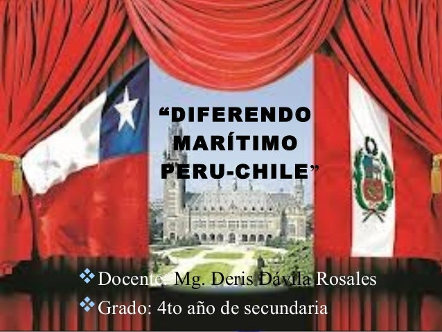 Diferendo marítimo Perú-Chile