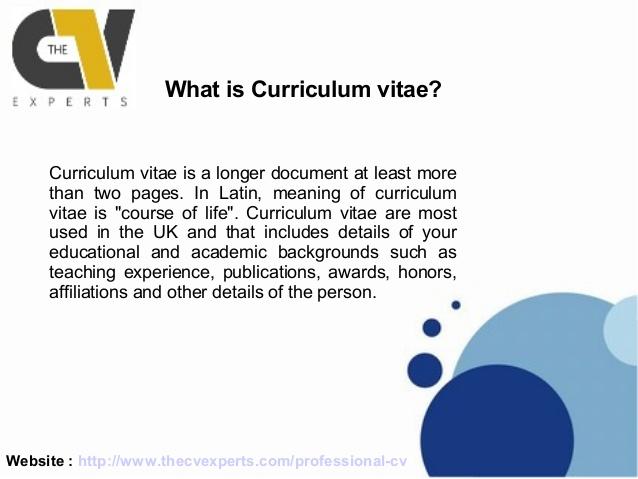 Letter Of Objectives CV Templates Australian Internships Clasifiedad Com  Resume Vs Curriculum Vitae