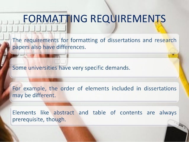 Difference between a dissertation and a thesis