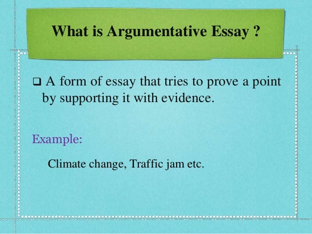 argumentative essay formal Formal or informal it can describe your opinions or be a synopsis of expert opinions argumentative essay format any argumentative essay needs to be written.