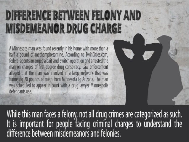 felony and misdemeanor differences Criminal offenses in california are classified according to seriousness there's 3 different types: infraction, misdemeanor & felony what's the difference.