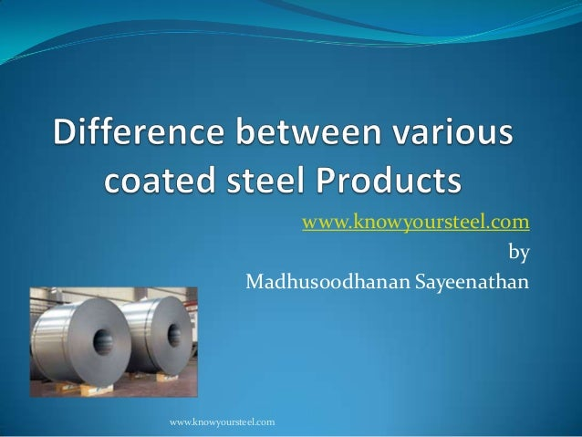 www.knowyoursteel.com by Madhusoodhanan Sayeenathan  www.knowyoursteel.com