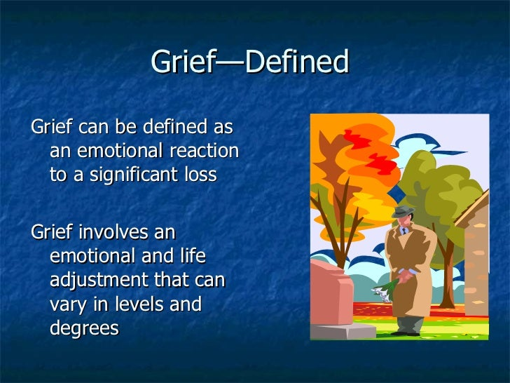 Grief Counseling and Therapy