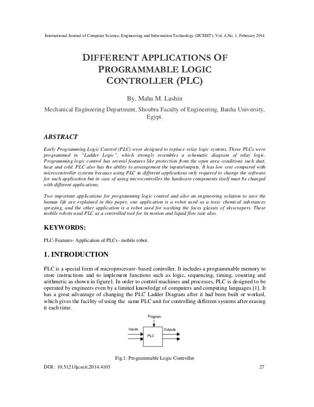 International Journal of Computer Science, Engineering and Information Technology (IJCSEIT), Vol. 4,No. 1, February 2014 D...