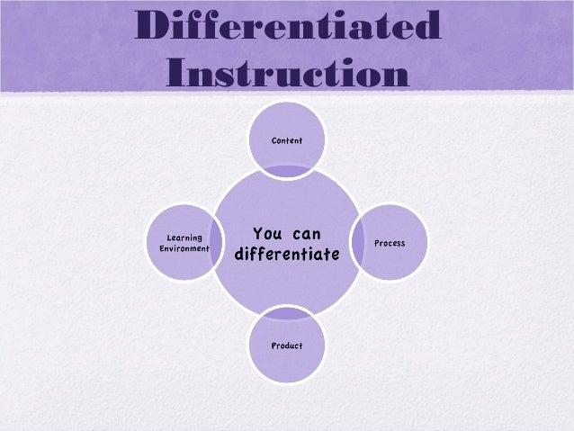 DifferentiatedInstruction