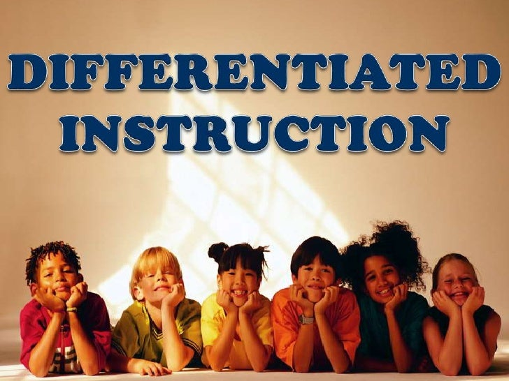 Differentiated instruction (2011)