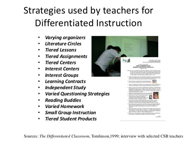 1 Perceptions about Implementation of Differentiated ...