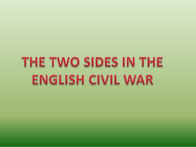 causes of the civil war essay 1642