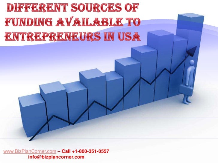 Different sources of funding available to entrepreneurs in USA