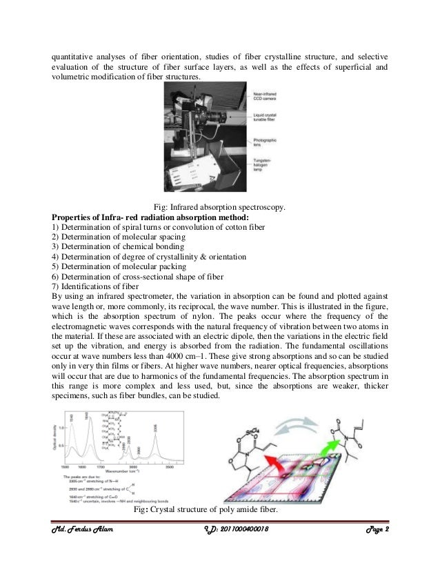 investigating attenuation in optical fibres essay In this paper, an overview of fiber optic sensors and their applications are presented development and subsequent mass production of fiber optic sensors are excellent candidates for monitoring that bends the fiber and causes attenuation of the signal.