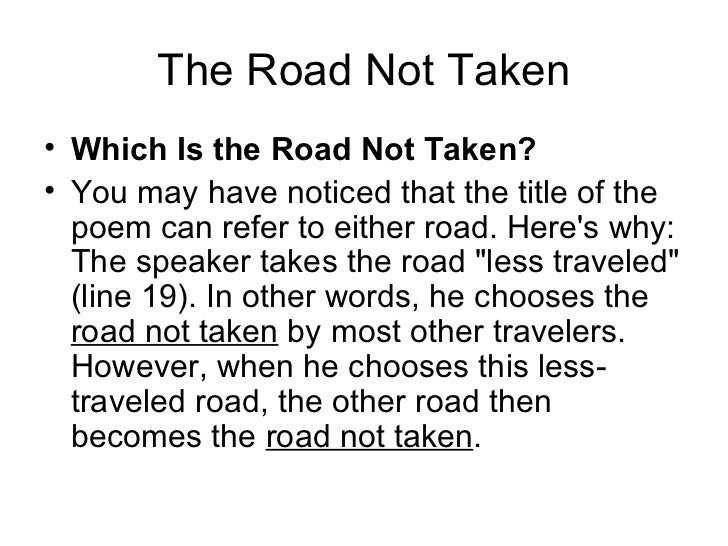 the road idea essay Road to chlifa essay what is an essay decide on a theme - the theme is kind of the moral, what the reader should take away as the main idea thesis statement.