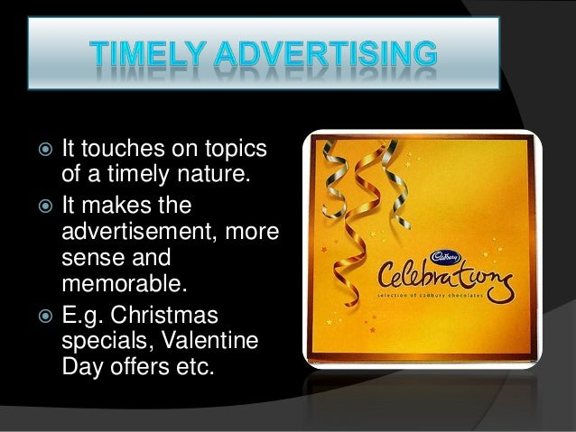 different types of advertising appeals ad Tv ads attitude is made by using different appeals and celebrity  time to watch  such type of ads which give information about product's features, specifications.
