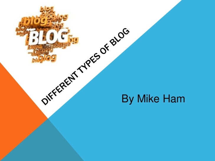 Different types of blog