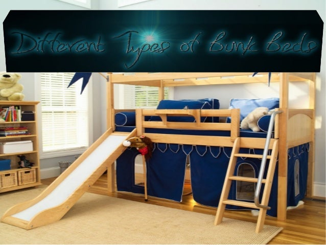 Different types of bunk beds for Different type of beds