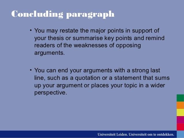 quiz types of essays