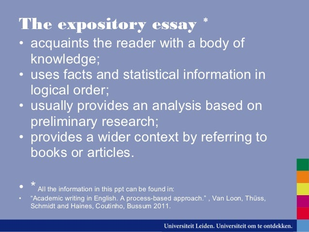 7 Expository Essay examples & Samples