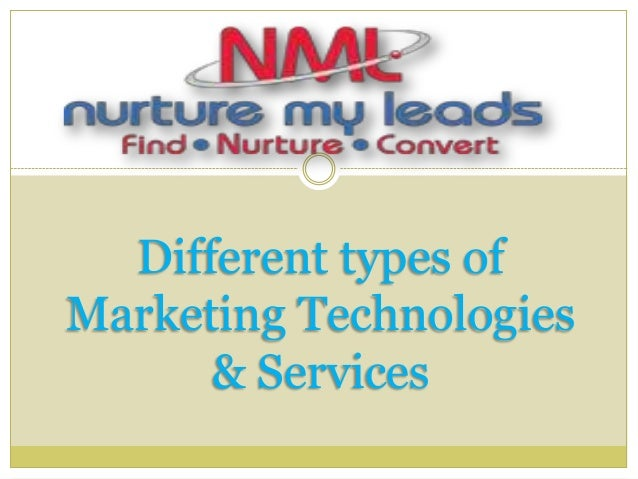 Different types of Marketing Technologies & Services