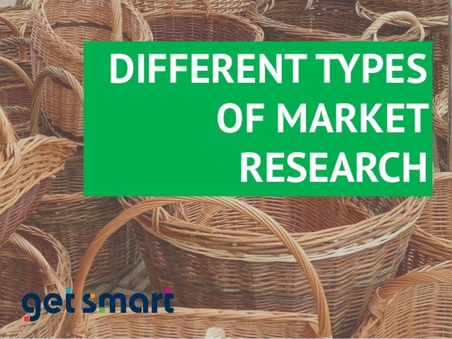 different types of market research techniques This article provides an overview of 6 different type of market research methods, including secondary research, surveys, focus groups, interviews, observational research, and experiments.