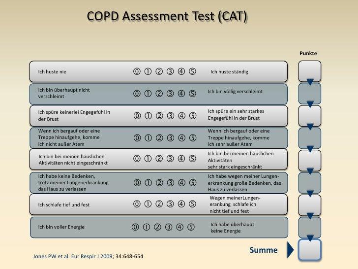 cat copd assessment test pdf