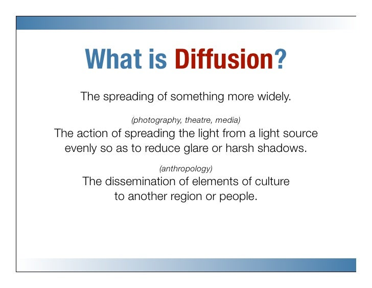 Diffusion Of Innovations Overview