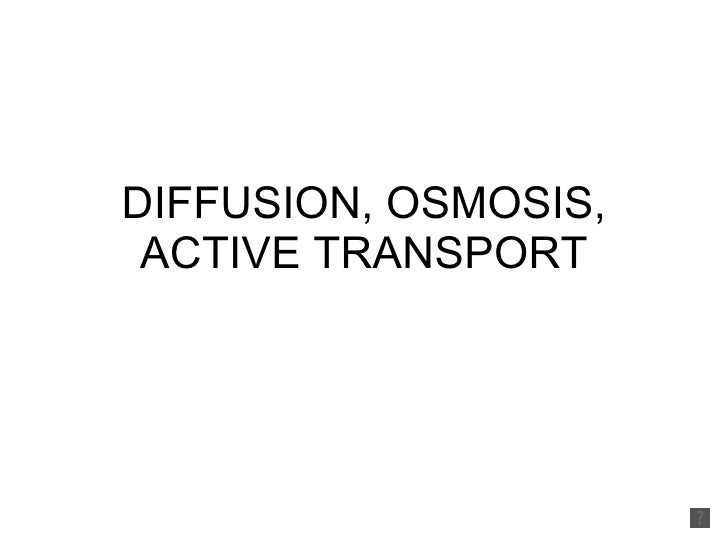 Diffusion, osmosis, active transport 2010 voice