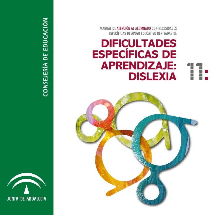 Dificultades específicas de aprendizaje, dislexia