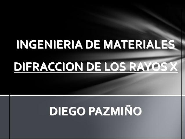 LOS RAYOS X Los Rayos X son radiaciones electromagnéticas penetrantes cuya longitud de onda va desde un rango de 0,5 a 2,5...
