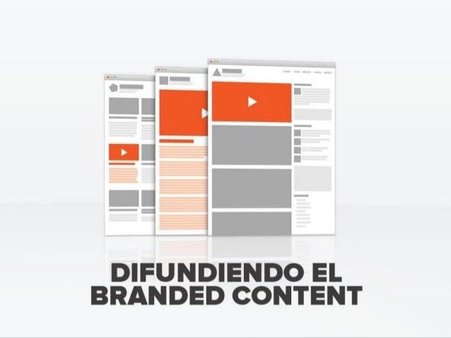 Difundiendo el Branded Content · JM Tribó