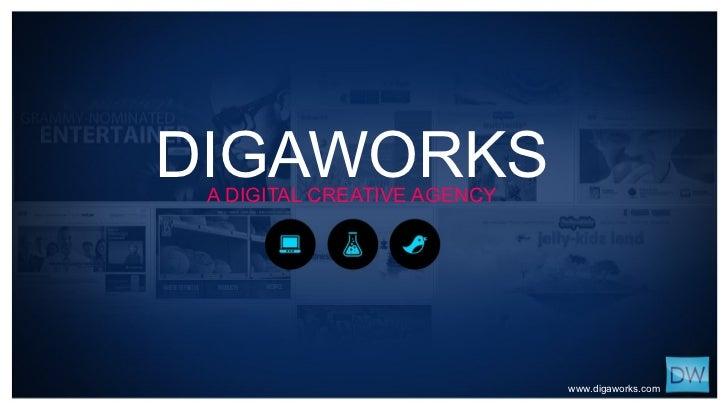 DIGAWORKS A DIGITAL CREATIVE AGENCY www.digaworks.com