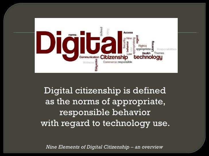 DigitalCitizenshipPresentation