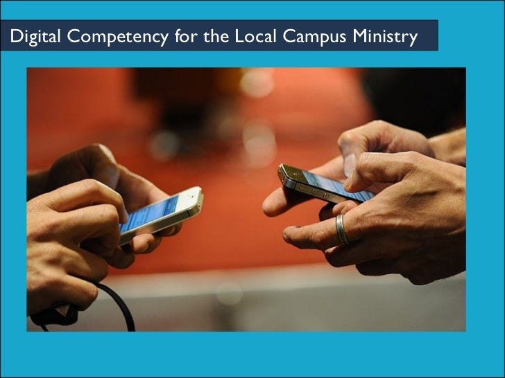 Digital Competency for the Local Campus Ministry