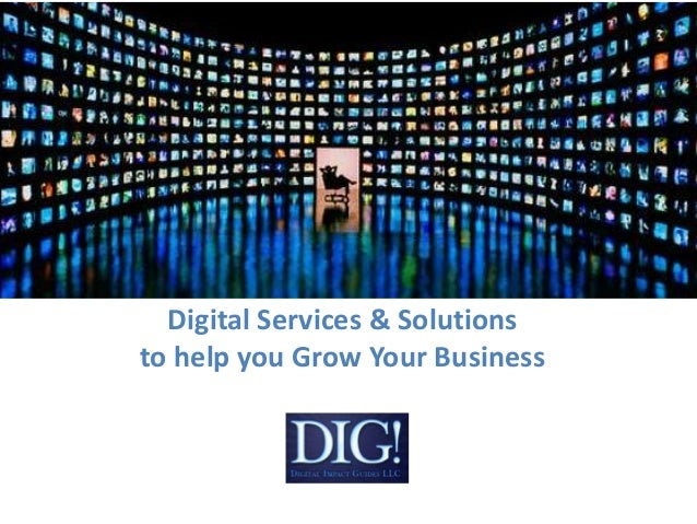 Digital Services & Solutionsto help you Grow Your Business