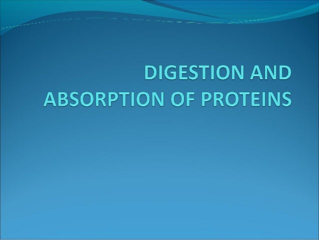 The proteins subjected to digestion and  absorption are obtained from two sources.1.Exogenous2.Endogenous