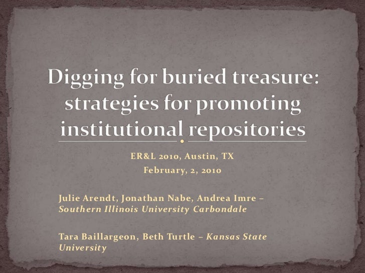 ER&L 2010, Austin, TX                 February, 2, 2010Julie Arendt, Jonathan Nabe, Andrea Imre –Southern Illinois Univers...