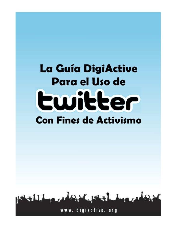 Digiactivismo En Twitter
