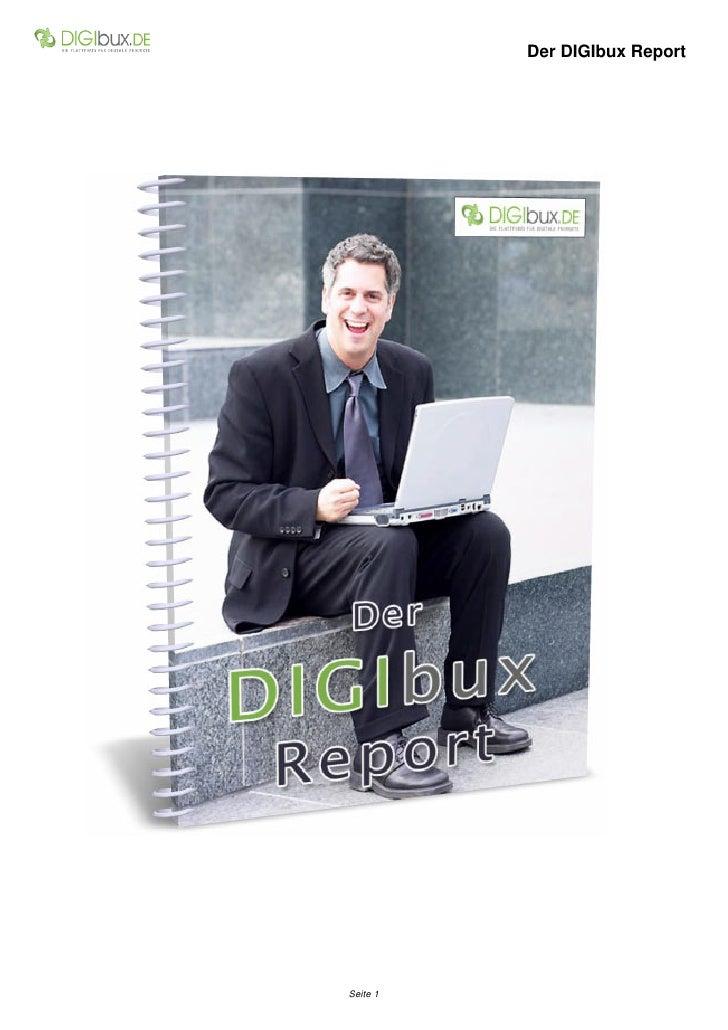 Der DIGIbux Report     Seite 1