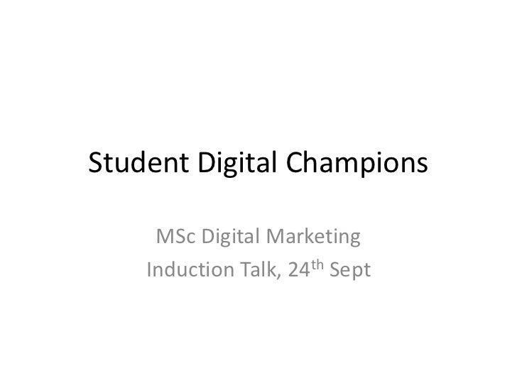 Digital Champions #digichamps