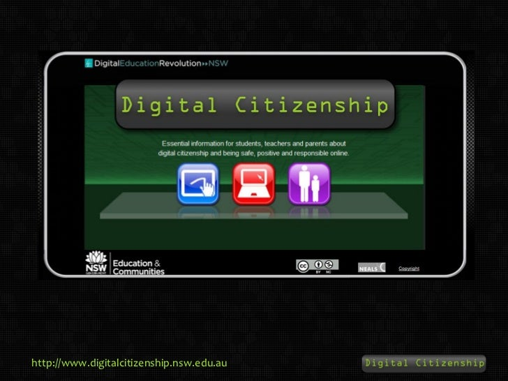 NSWDEC Digital Citizenship - 2011 Resources