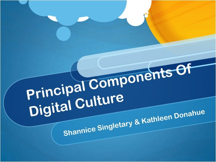 Digital cultureAn emerging value system & set of expectationsexpressed in the activities of news and onlineinformation med...