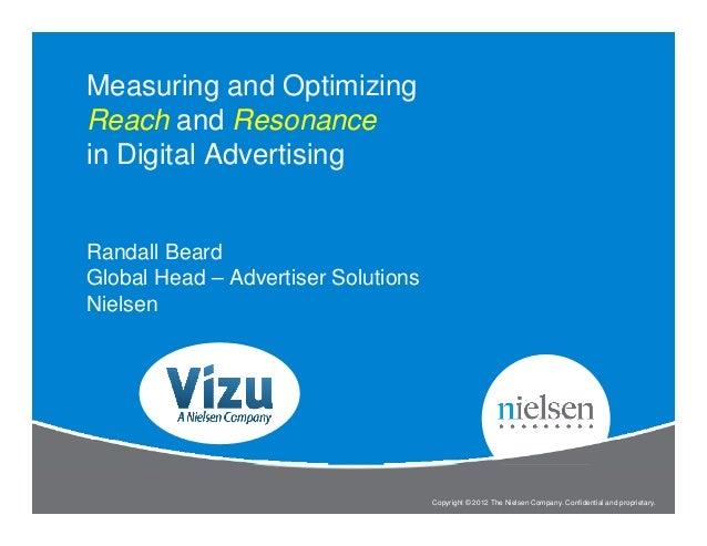 Measuring & Optimizing Reach and Resonance in Digital Advertising