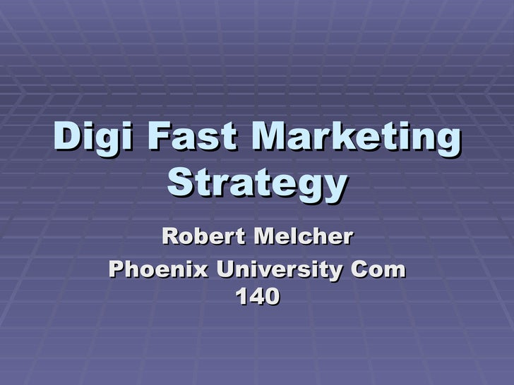 Digi Fast Marketing Strategy