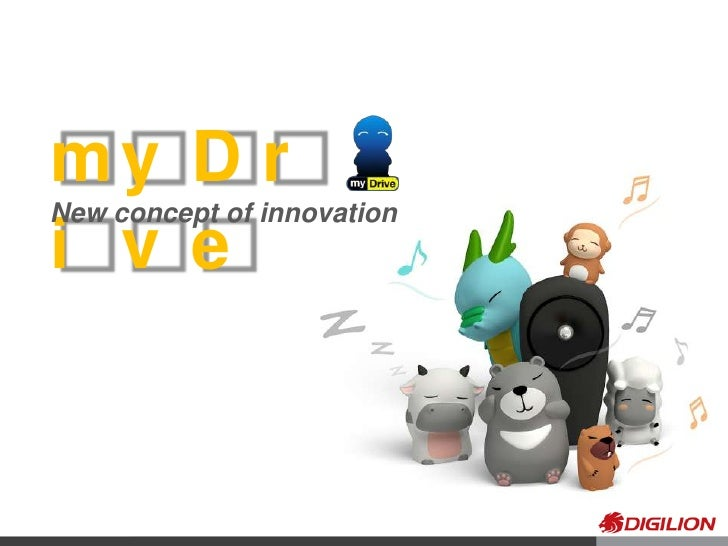 myDrive<br />New concept of innovation <br />