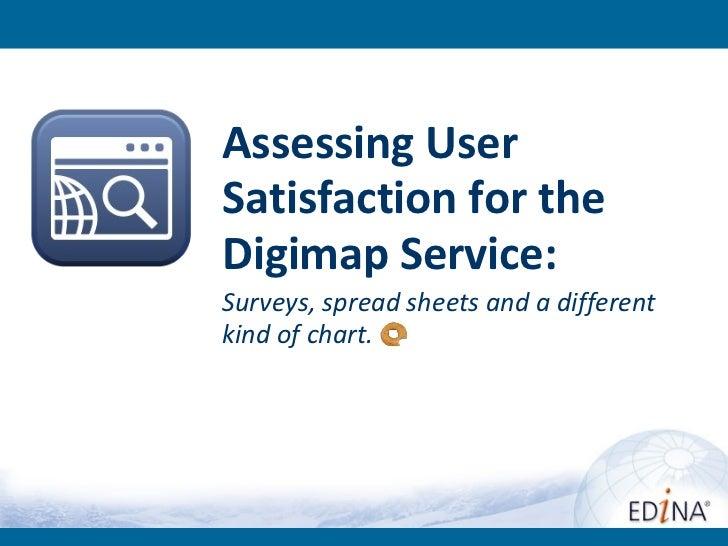 Digimap user satisfaction