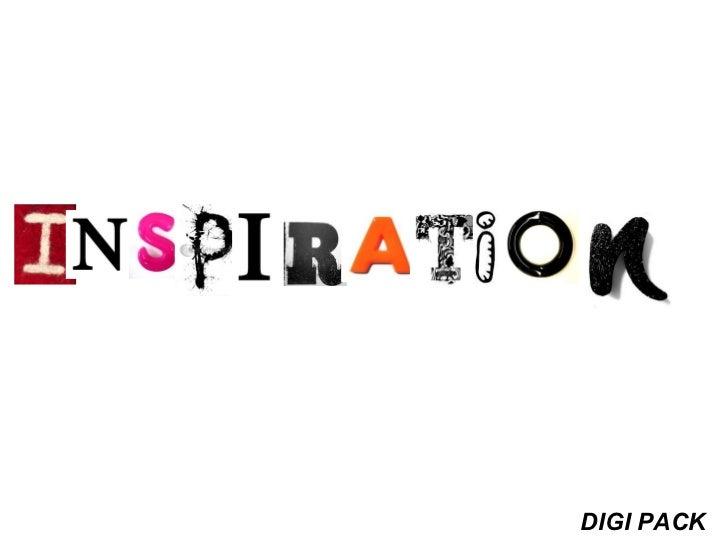 Digi pack inspiration