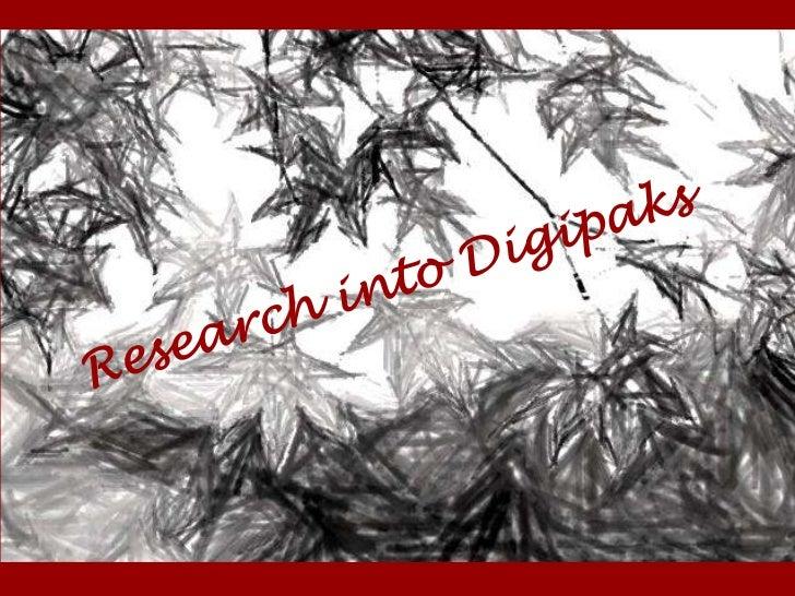 Digipak Research
