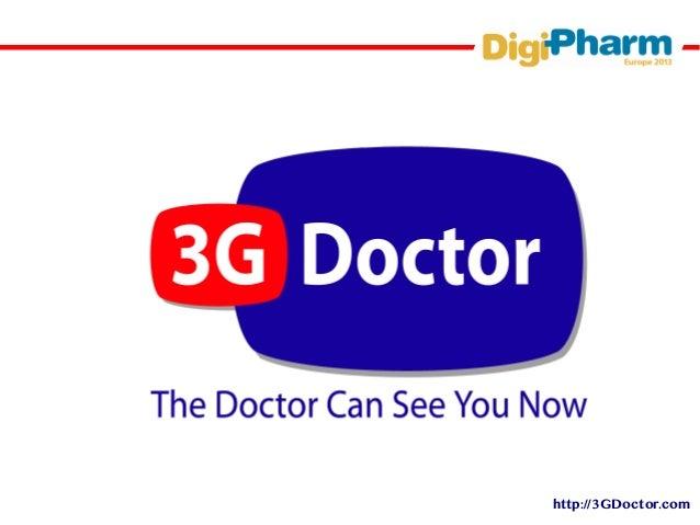 Digi pharm mobile pharma world 2013 3g doctor slides