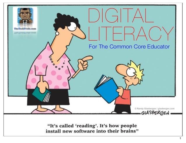 Digital Literacy for Common Core Educators