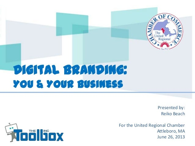 Digital Branding - You and Your Business