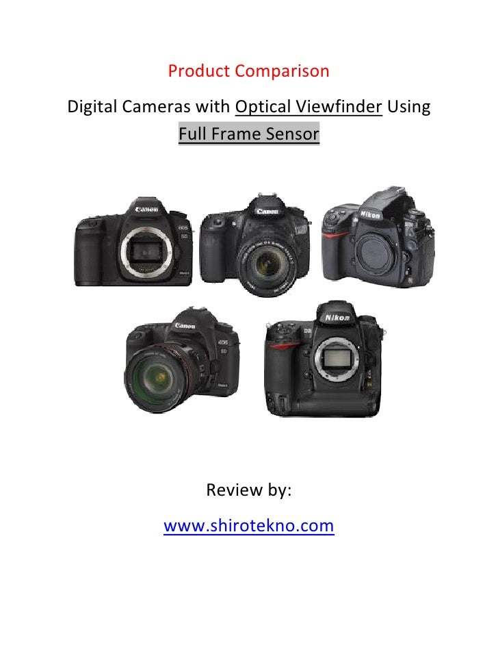 Digital cameras-with-optical-viewfinder-using-full-frame-sensor